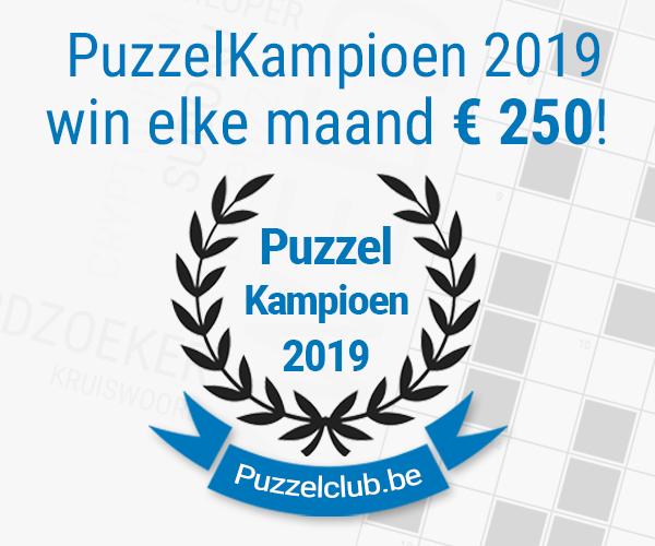 Ontdek nu de gratis wedstrijdpakketten op Puzzelclub.be. Word de beste en win!