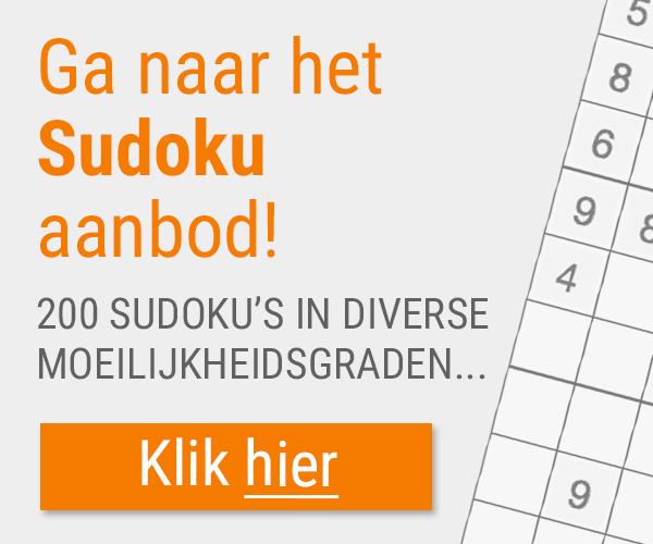 Naar puzzelclub sudoku puzzels