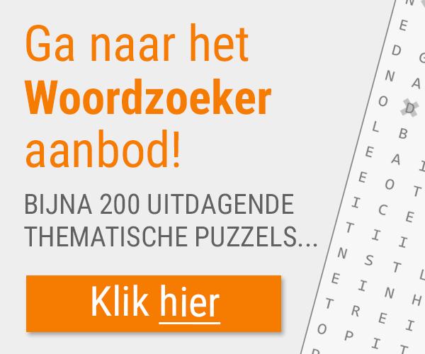 Naar puzzelclub woordzoekers