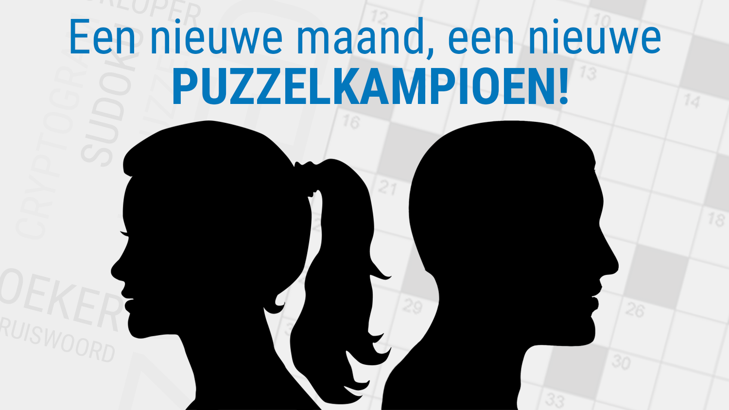 We kennen de negende PuzzelKampioen!