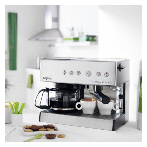 Magimix espressomachine chrome